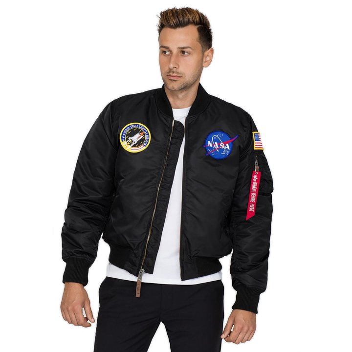 Kurtka Bomberka Alpha Industries MA-1 VF NASA 166107-03